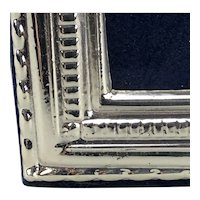 Sterling Silver Embossed Photo Picture Frame Millenium Vintage c2019