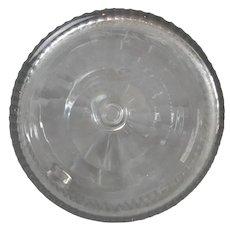 Slice & Flute Cut Glass Decanter Antique Georgian c1800