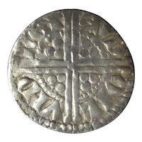Henry III of England Long Cross Silver Penny 2nd Issue Antique c 1248-50