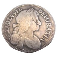 Charles II 4 Pence Coin Antique Dated 1683.