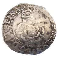 James I Half Groat Coin Antique Dated 1603-1625.