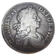 Charles II Of England Crown 1671.