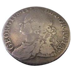 George II Of England Shilling 1758.