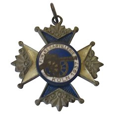 WW2 Swedish Artillery Medal