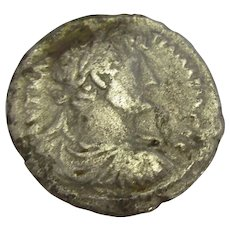 Roman Hadrian Silver Tetradrachm Coin Antique AD 124-5.