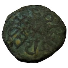 Northumbrian Kingdom Anglo- Saxon King Eanred Coin Antique c 810-841 AD.