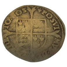 Antique Philip & Mary Groat c1554-1558.