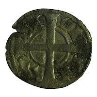 Spanish Silver Diner Alfons 1st Antique Medieval c.1162-1136.