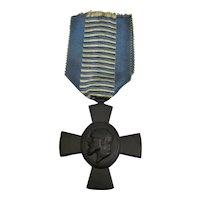 Bavarian King Ludwig Black Iron Cross Medal Antique 1916.