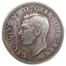King George VI Crown 1937.