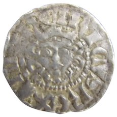 King Henry III Sterling Silver Long Cross Penny C1250 .