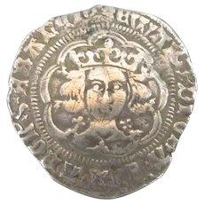 Edward IV Of England Groat Antique 15th Century