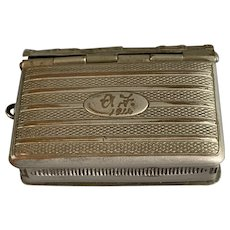 Metal Sovereign Case Antique Edwardian c1914