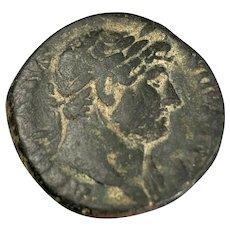 Hadrian Roman Coin Antiques AD 117-138