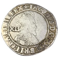 James I Shilling Antique Stuart 1603-1625