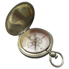 American Pocket Compass Antique c1917