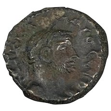 Roman Coin Billion Tetradrachm Claudius Gothicus Alexandria Antique AD 269-270