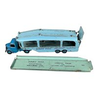 Car Transporter Dinky Toy By Meccano With Loading Ramp Vintage c1950