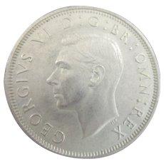 King George VI Half Crown 1939.