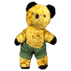Soft Toy Articulated Teddy Bear Vintage c1960