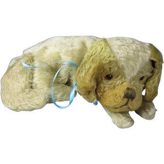 Child's Teddy Bear Dog Bed Clothes Case Vintage c1950