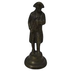 Patinated Bronze Napoleon Figure Antique Edwardian C1910.