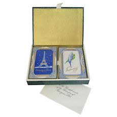 Boxed Brand New Unopened Playing Cards Vintage 1930s.