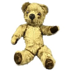 Pedigree Soft Toy Company Articulated Teddy Bear Vintage c1960