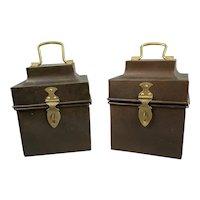 Regency Style Storage Tin Vintage c1980