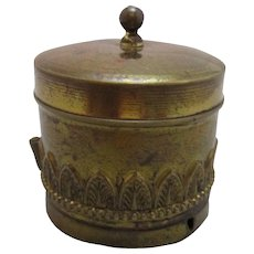 Brass Tape Measure Antique Victorian c.1890.