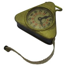 Vintage Novelty Sewing Tape Measure c.1930s.