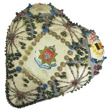 Sweetheart Pin Cushion First World War 1914-1918