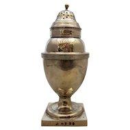 English Sterling Silver Sugar Castor Antique London 1806