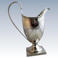 English Sterling Silver Cream Jug Antique London 1795