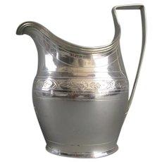 Sterling Silver Milk Jug George III Georgian London 1800
