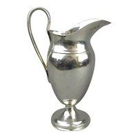 Sterling Silver Large Cream Jug Antique Edwardian London 1904