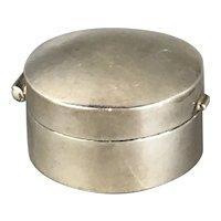 Sterling Silver Pill Box Vintage London 1998