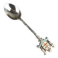 George V FIJI Sterling Silver Souvenir Spoon Antique Birmingham 1912