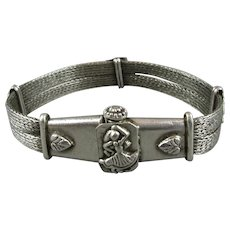 Sterling Silver Rajasthan Bracelet Early 20th Century