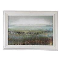 Mixed Media Painting Coastal Scene by Donald Williamson Contemporary
