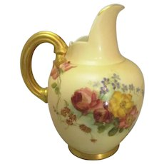 Small Antique Royal Worcester Jug c1900.