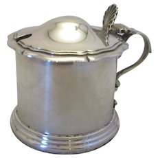 Sterling Silver Jam Dish Antique c1906.