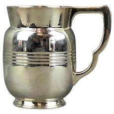 Sterling Silver Jug Art Deco Vintage 1934