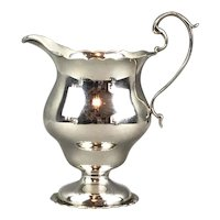 Sterling Silver Mappin And Webb Jug Vintage 1921