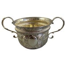 Sterling Silver Sugar Bowl Chester Art Deco c.1904