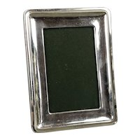 Sterling Silver Photo Frame Birmingham Antique c1910