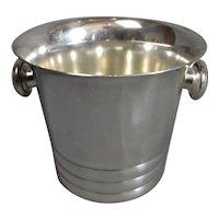 Art Deco Silver Plated Ice Bucket Vintage c1930