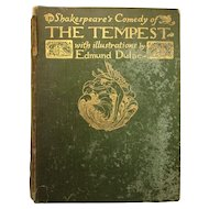 'The Tempest' Illustrated by Edmund Dulac 1910