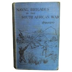 'Naval Brigades in the South African War 1899-1900' Book by TT Jeans c1901.