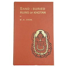 Sand-Buried Ruins Of Khotan By M.A.Stein Book Nonfiction Reprint c.2000.